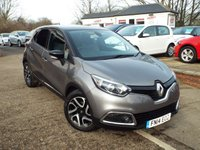 USED 2014 14 RENAULT CAPTUR 1.5 DYNAMIQUE S MEDIANAV ENERGY DCI S/S 5d 90 BHP Zero Cost Road Tax...Great equiptment level
