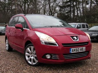 2010 PEUGEOT 5008 2.0 HDi FAP Exclusive £SOLD