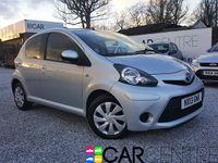 USED 2013 13 TOYOTA AYGO 1.0 VVT-I ICE 5d 68 BHP 1 OWNER FROM NEW