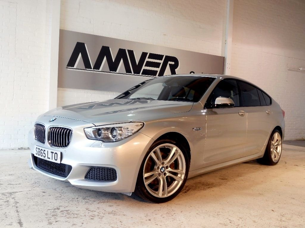 USED 2015 65 BMW 5 SERIES GRAN TURISMO 2.0 520d M Sport GT 5dr PAN ROOF_HEATED SEATS_FBMWSH