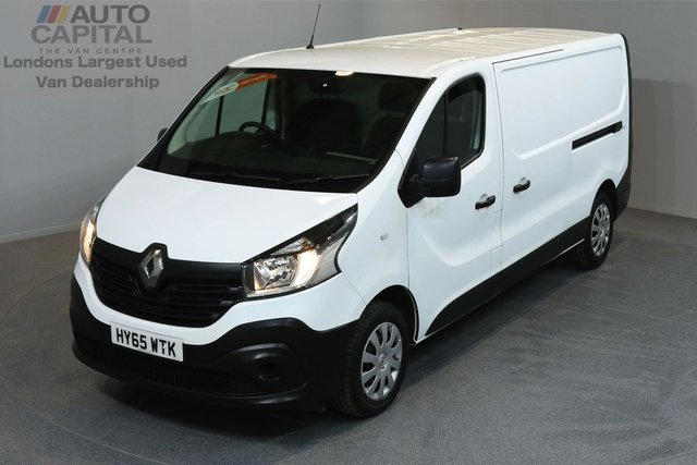2015 65 RENAULT TRAFIC 1.6 LL29 BUSINESS DCI S/R P/V 5d 115 BHP LWB FWD ECO DRIVE POWER WINDOW, MIRROR ONE OWNER FROM NEW