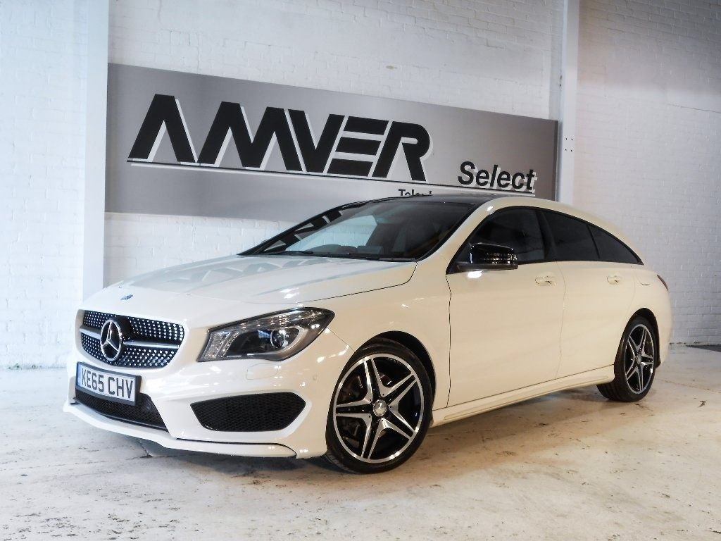 USED 2016 65 MERCEDES-BENZ CLA CLASS 2.1 CLA220 AMG Sport Shooting Brake 7G-DCT (s/s) 5dr **THIS CAR IS NOW SOLD**