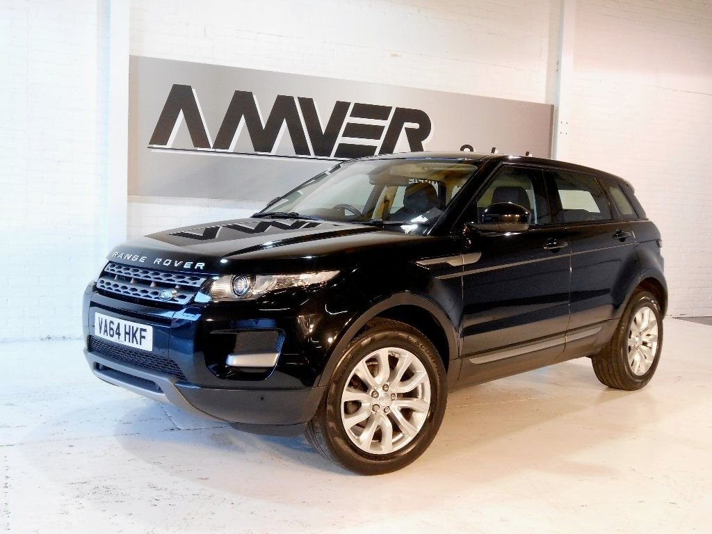 USED 2014 64 LAND ROVER RANGE ROVER EVOQUE 2.2 SD4 Pure Tech Hatchback AWD 5dr SAT NAV - HEATED SEATS - FLRSH