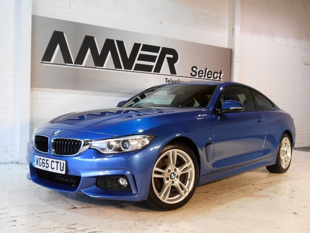 USED 2015 65 BMW 4 SERIES 2.0 420d M Sport 2dr BMW SERVICE PACK TO OCT 2020