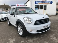 USED 2011 04 MINI COUNTRYMAN 1.6 COOPER D ALL4 5d 112 BHP Sat Nav, Bluetooth, Media Pack, Xenon Lights, Leather!