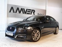 USED 2014 64 JAGUAR XF 2.2 TD R-Sport 4dr (start/stop) 1 OWNER & FULL JAGUAR HISTORY