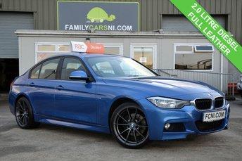 2014 BMW 3 SERIES 2.0 320D M SPORT 4d 181 BHP £13495.00