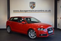 USED 2012 12 AUDI A3 2.0 SPORTBACK TDI S LINE 5DR 138 BHP + HALF BLACK LEATHER INTERIOR + FULL SERVICE HISTORY +  SPORT SEATS + AUXILIARY PORT + HEATED MIRRORS + AIR CONDITIONING + 17 INCH ALLOY WHEELS +