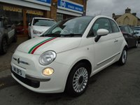 2010 FIAT 500 1.2 LOUNGE 3d 69 BHP £4149.00