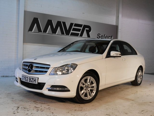 2012 62 MERCEDES-BENZ C CLASS 2.1 C220 CDI BlueEFFICIENCY SE (Executive) 7G-Tronic Plus 4dr (Map Pilot)
