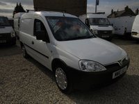 2010 VAUXHALL COMBO 2000 1.3CDTI 73 BHP VAN WITH SIDE LOAD DOOR  £3495.00