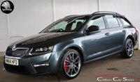 USED 2015 64 SKODA OCTAVIA 2.0TDi VRS 5 DOOR ESTATE 6-SPEED 181 BHP Finance? No deposit required and decision in minutes.