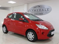 USED 2012 12 FORD KA 1.2 EDGE 3d 69 BHP *FULL DEALER HISTORY, £30 TAX, 12 MONTHS MOT*