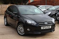 USED 2013 13 FORD FOCUS 1.0 ZETEC 5d 99 BHP **** ONE OWNER * £20 ROAD TAX * BLUETOOTH * AIR CON ****