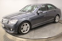 2008 MERCEDES-BENZ C-CLASS C220 CDI BLUEEFFICIENCY SPORT 4d 170 BHP £7494.00