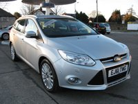 2011 FORD FOCUS 1.6 TITANIUM X TDCI 5d 113 BHP £7395.00