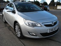 2010 VAUXHALL ASTRA 1.4 EXCLUSIV 5d 138 BHP £4695.00