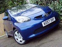 2007 TOYOTA AYGO 1.0 BLUE VVT-I 5d 68 BHP £2499.00