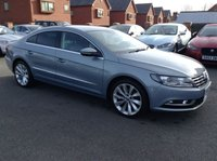 USED 2013 63 VOLKSWAGEN CC 2.0 GT TDI BLUEMOTION TECHNOLOGY DSG 4d AUTO 175 BHP Full service history,   Full leather upholstery,   Heated front seats,   Electric driver's seat,   Bluetooth,   Satellite Navigation,   Front and rear parking sensors
