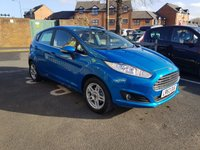 USED 2013 63 FORD FIESTA 1.2 ZETEC 5d 81 BHP EXCELLENT FUEL ECONOMY!..LOW CO2 EMISSIONS..£30 ROAD TAX!..FULL HISTORY..ONLY 3235 MILES FROM NEW!!..WITH ALLOY WHEELS AND FRONT HEATED WINDSCREEN!!