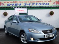 2009 LEXUS IS 2.2 220D SE 4d 175 BHP £4999.00