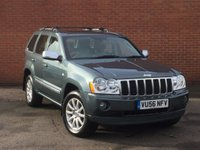2006 JEEP GRAND CHEROKEE 3.0 V6 CRD OVERLAND 5d AUTO 215 BHP £7995.00