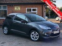 2012 CITROEN DS3 1.6 DSTYLE 3d AUTO 120 BHP £6495.00