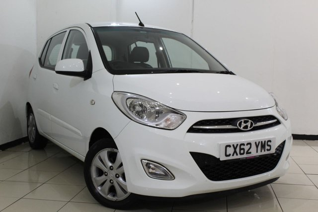 View our 2012 62 HYUNDAI I10 1.2 ACTIVE 5DR 85 BHP
