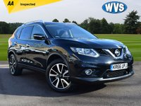 USED 2016 66 NISSAN X-TRAIL 1.6 DCI N-TEC 5d 130 BHP This is a top specification November 2016 Nissan X-Trail 1.6dci N-TEC 4x4 Estate in black with service history and 2 keys. Complete with the remainder of the manufacturers warranty and 2 keys. Very good value at £18999.