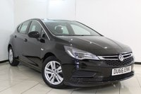 USED 2016 66 VAUXHALL ASTRA 1.0 TECH LINE ECOFLEX S/S 5DR 104 BHP MANUFACTURER WARRANTY + SAT NAVIGATION + CRUISE CONTROL + BLUETOOTH + MULTI FUNCTION WHEEL + 16 INCH ALLOY WHEELS