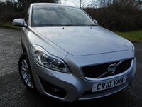 2010 VOLVO C30 2.0 SE LUX 3d 145 BHP ** HEATED WHITE LEATHER MEMORY SEATS ** £4995.00