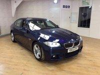 2015 BMW 5 SERIES 2.0 520D M SPORT 4d AUTO 188 BHP £18995.00