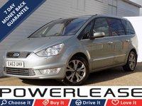 2013 FORD GALAXY 2.0 TITANIUM X TDCI 5d AUTO 163 BHP £12489.00