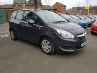 USED 2014 64 VAUXHALL MERIVA 1.4 EXCLUSIV AC 5d AUTO 118 BHP AUTOMATIC WITH CRUISE CONTROL!..EXCELLENT FUEL ECONOMY!..LOW CO2 EMISSIONS..LOW ROAD TAX..FULL HISTORY..ONLY 7834 MILES FROM NEW!!..ALSO WITH FRONT AND REAR PARKING SENSORS!