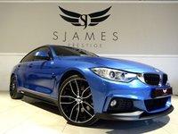 2016 BMW 4 SERIES 3.0 430D XDRIVE M SPORT GRAN COUPE 4d AUTO 255 BHP £25990.00