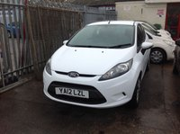 2012 FORD FIESTA 1.2 EDGE 3d 59 BHP £5295.00