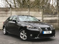 2014 LEXUS IS 2.5 300H SE 4d AUTO 220 BHP £14995.00