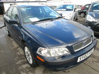 2002 VOLVO S40  S 4 DOOR SALOON PETROL CAR £POA
