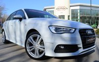 USED 2015 15 AUDI A3 1.4 TFSI S LINE 5d 125 BHP ***REQUEST YOUR WATSAPP VIDEO***
