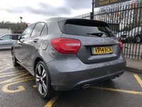 USED 2014 14 MERCEDES-BENZ A CLASS 2.1 A200 CDI SPORT 5d AUTO 136 BHP STUNNING MOUNTAIN GREY PAINT WORK, BLACK CHEQUER CLOTH/ARTICO INTERIOR, CRUISE CONTROL, BLUETOOTH, AIR CON, 18 INCH BI COLOUR POLISHED ALLOY WHEELS, LOW MILEAGE, 2 OWNERS, SERVICE HISTORY