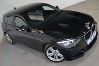 2013 BMW 1 SERIES 2.0 118D M SPORT 5d AUTO 141 BHP £11990.00