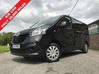 USED 2015 15 RENAULT TRAFIC 1.6 SL27 BUSINESS PLUS DCI S/R P/V 1d 115 BHP 3 Seat, Air Con, Two Owner, Low Mileage
