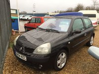 2004 RENAULT CLIO 1.5 DYNAMIQUE DCI sold as spares and repairs  £495.00
