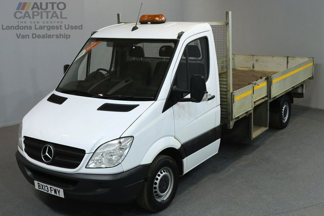 2013 13 MERCEDES-BENZ SPRINTER 2.1 313 CDI 129 BHP LWB DROPSIDE LORRY   ONE OWNER FROM NEW