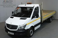 USED 2014 64 MERCEDES-BENZ SPRINTER 2.1 313 CDI 129 BHP LWB DROPSIDE LORRY   ONE OWNER FROM NEW, FULL SERVICE HISTORY