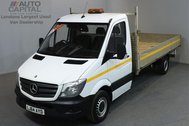 2014 64 MERCEDES-BENZ SPRINTER 2.1 313 CDI 129 BHP LWB DROPSIDE LORRY   ONE OWNER FROM NEW, FULL SERVICE HISTORY