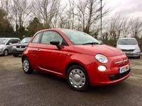 2013 FIAT 500 1.2 POP 3d  LOW TAX AND INSURANCE   £4250.00