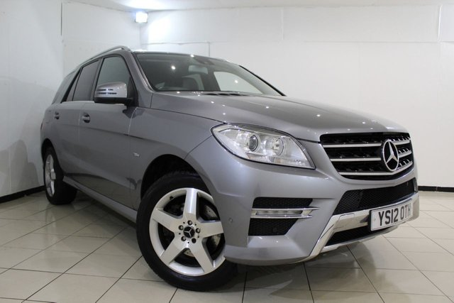 View our 2012 12 MERCEDES-BENZ M CLASS 3.0 ML350 BLUETEC SPORT 5DR AUTOMATIC 258 BHP