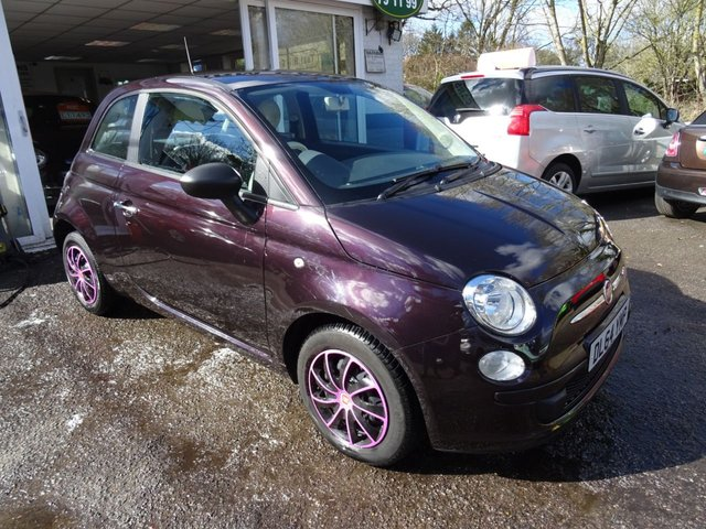 2015 64 FIAT 500 1.2 POP (WITH LOUNGE OPTIONAL EXTRAS) 3d 69 BHP