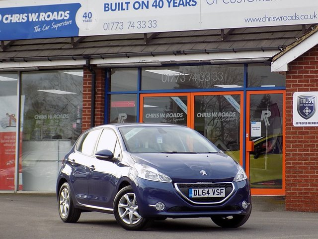 USED 2015 64 PEUGEOT 208 1.0 ACTIVE 5dr  *ONLY 9.9% APR*
